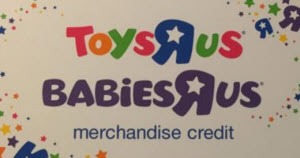 Toys R Us In Store Credit Only Gift Card Balance Check The Balance