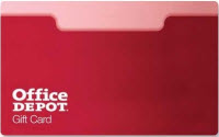 Check Office Depot Gift Card Balance online, over the phone or in store. Gift card merchant Office Depot provides you a gift card balance check, the information is below for this gift card company.