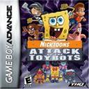 Nicktoons Attack of the Toybots Nintendo Game Boy Advance