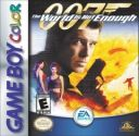 World Is Not Enough 007 Nintendo Game Boy Color