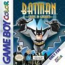 Batman Total Chaos in Gotham City Nintendo Game Boy Color
