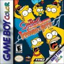 The Simpsons Night of the Living Treehouse of Horror Nintendo Game Boy Color