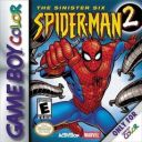 Spiderman 2 The Sinister Six Nintendo Game Boy Color